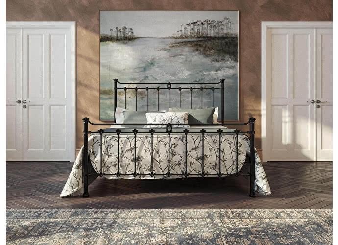 Кровать Originals by Dreamline Guardian (2 спинки) Черный глянцевый