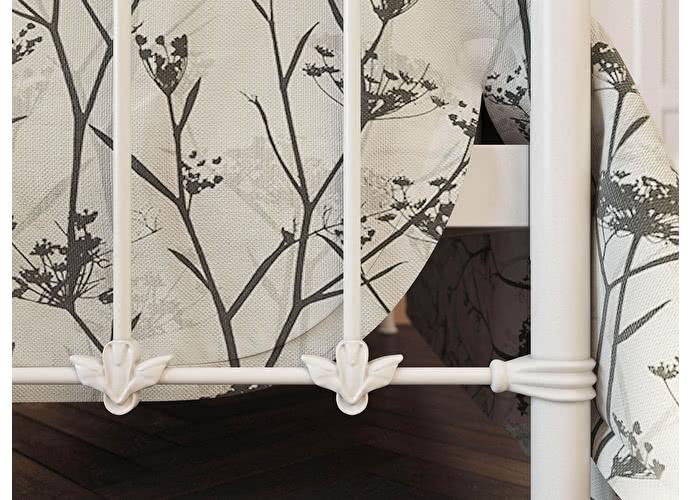 Кровать Originals by Dreamline Guardian (2 спинки) Белый глянцевый