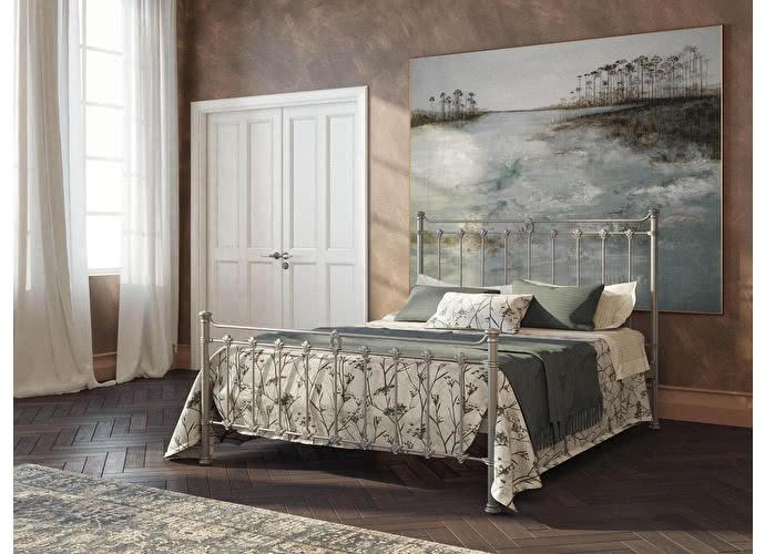 Кровать Originals by Dreamline Guardian (2 спинки) Серебро