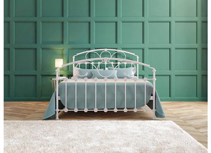 Кровать Originals by Dreamline Rosaline (2 спинки) Белый глянцевый