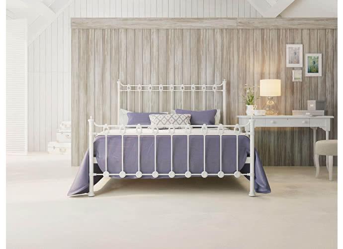 Кровать Originals by Dreamline Capella (1 спинка) Белый матовый