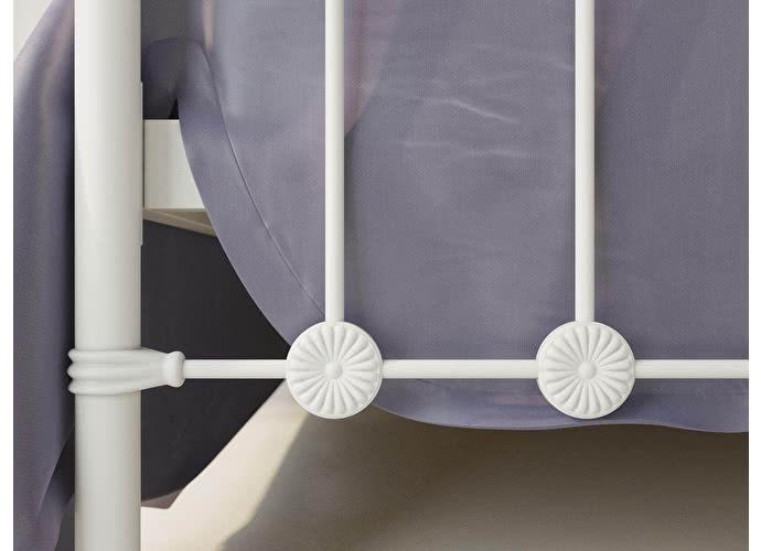 Кровать Originals by Dreamline Capella (2 спинки) Белый матовый