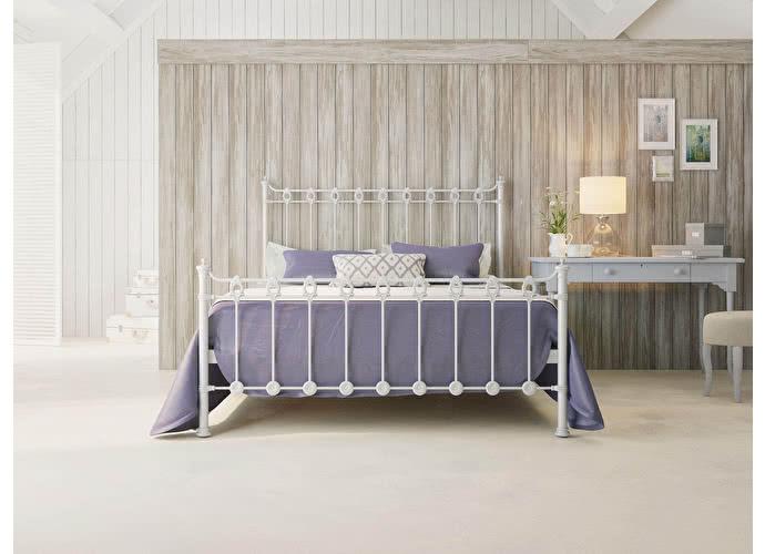 Кровать Originals by Dreamline Capella (2 спинки) Серебро