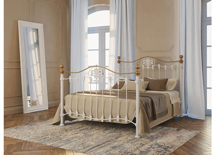 Кровать Originals by Dreamline Camelot (1 спинка) Белый глянцевый