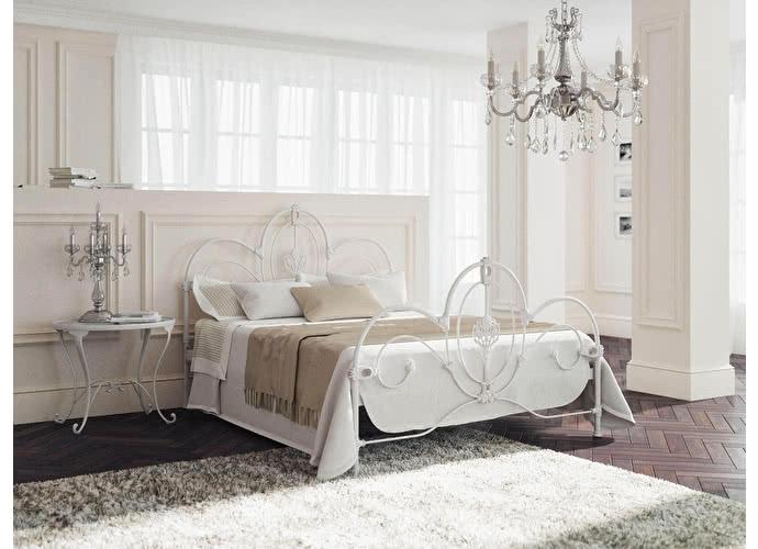 Кровать Originals by Dreamline Prima (1 спинка) Белый глянцевый