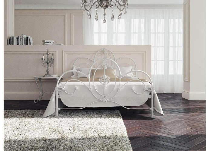 Кровать Originals by Dreamline Prima (2 спинки) Белый глянцевый