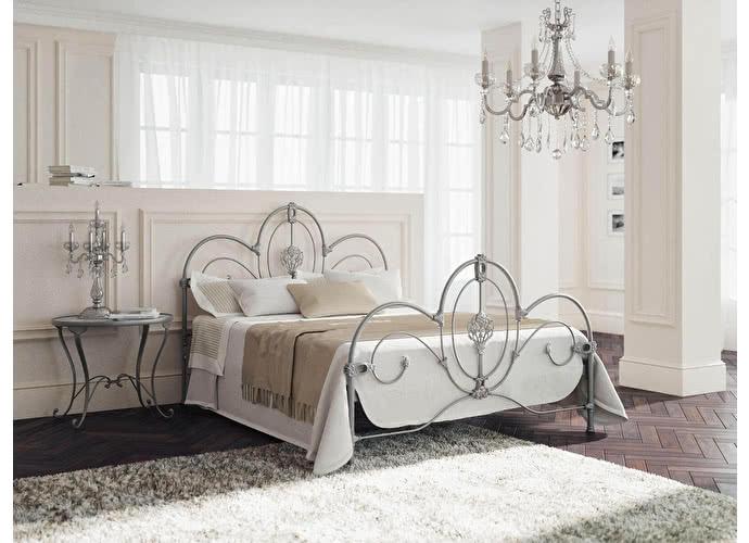 Кровать Originals by Dreamline Prima (2 спинки) Серебро
