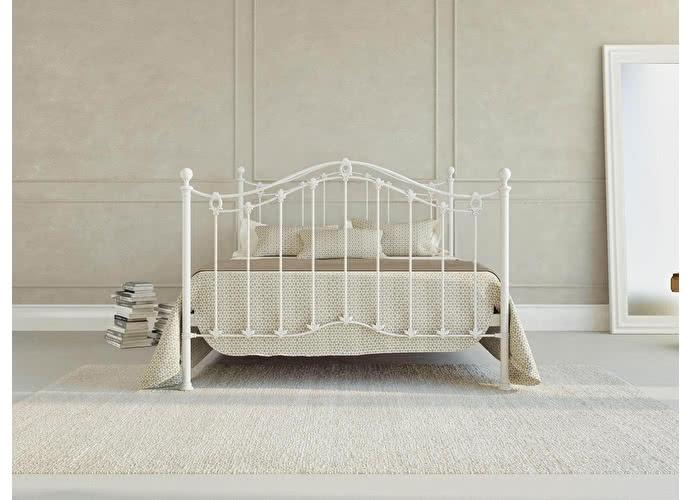 Кровать Originals by Dreamline Kari (1 спинка) Белый глянцевый