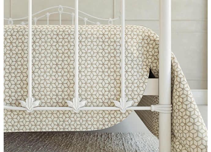 Кровать Originals by Dreamline Kari (2 спинки) Белый глянцевый