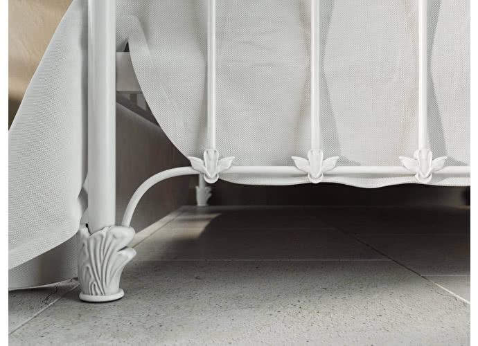 Кровать Originals by Dreamline Sylva (1 спинка) Белый глянцевый