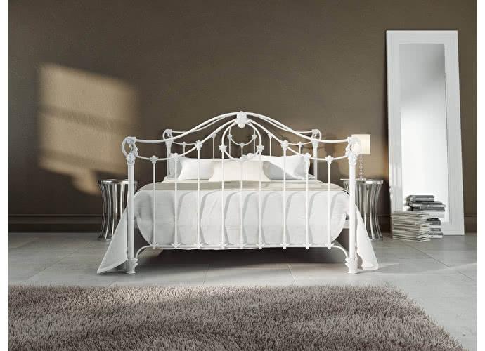 Кровать Originals by Dreamline Sylva (2 спинки) Белый глянцевый