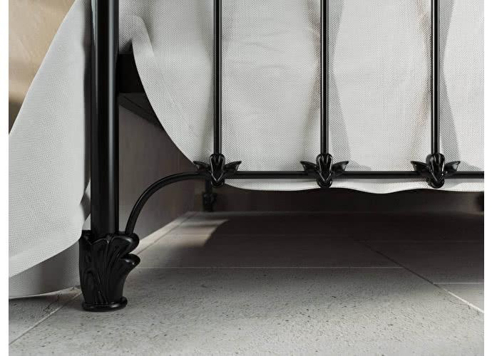 Кровать Originals by Dreamline Sylva (2 спинки) Черный глянцевый