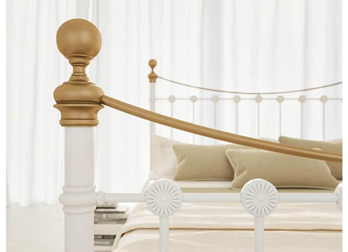 Кровать Originals by Dreamline First (1 спинка) Белый глянцевый