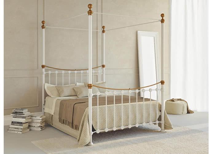 Кровать Originals by Dreamline Sunshine (2 спинки) Белый глянцевый