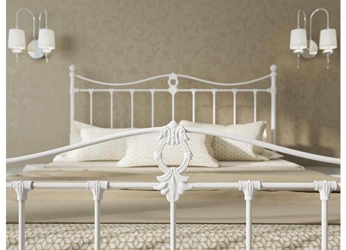 Кровать Originals by Dreamline Taya (1 спинка) Белый матовый