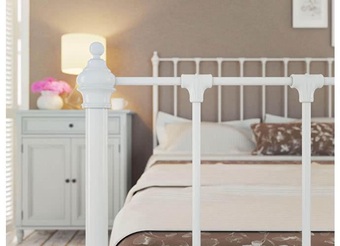 Кровать Originals by Dreamline Paris (1 спинка) Белый глянцевый
