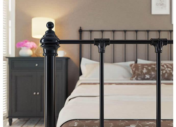 Кровать Originals by Dreamline Paris (1 спинка) Черный глянцевый