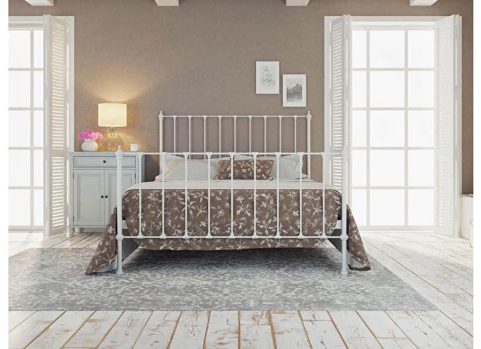 Кровать Originals by Dreamline Paris (2 спинки) Белый глянцевый