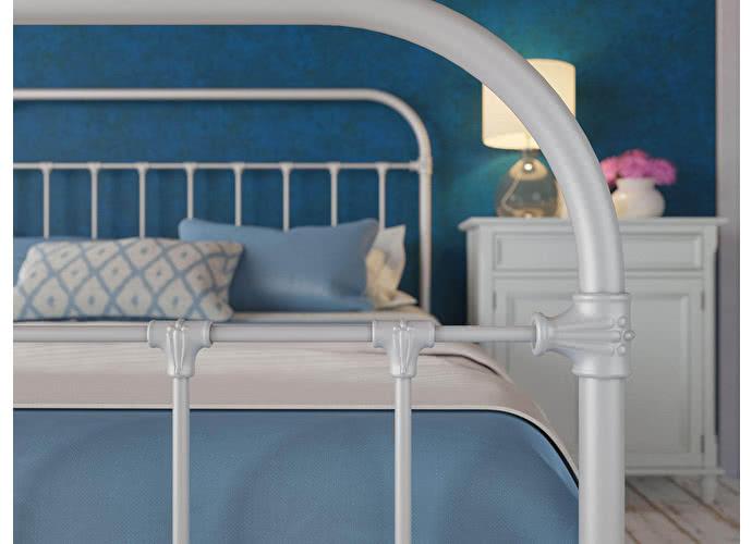 Кровать Originals by Dreamline Pauline (1 спинка) Серебро