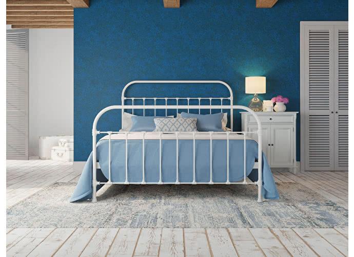 Кровать Originals by Dreamline Pauline (2 спинки) Белый матовый
