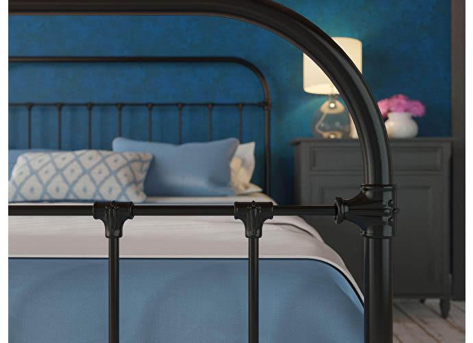 Кровать Originals by Dreamline Pauline (2 спинки) Черный глянцевый