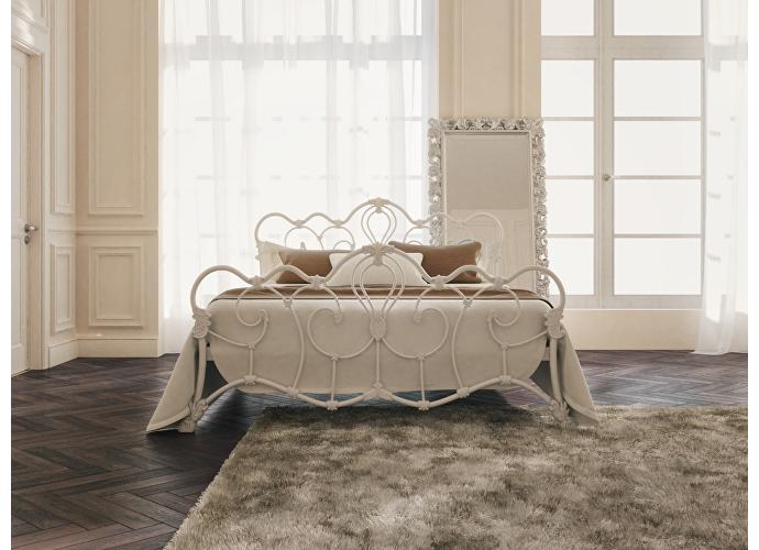 Кровать Originals by Dreamline Michelle (2 спинки) Белый матовый