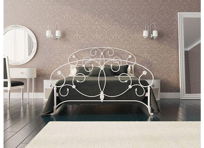 Кровать Originals by Dreamline Ariana (1 спинка) Белый матовый