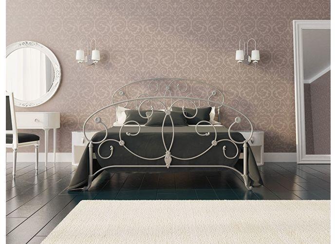 Кровать Originals by Dreamline Ariana (1 спинка) Серебро