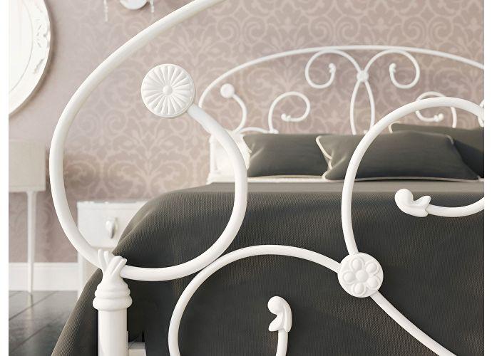 Кровать Originals by Dreamline Ariana (2 спинки) Белый матовый