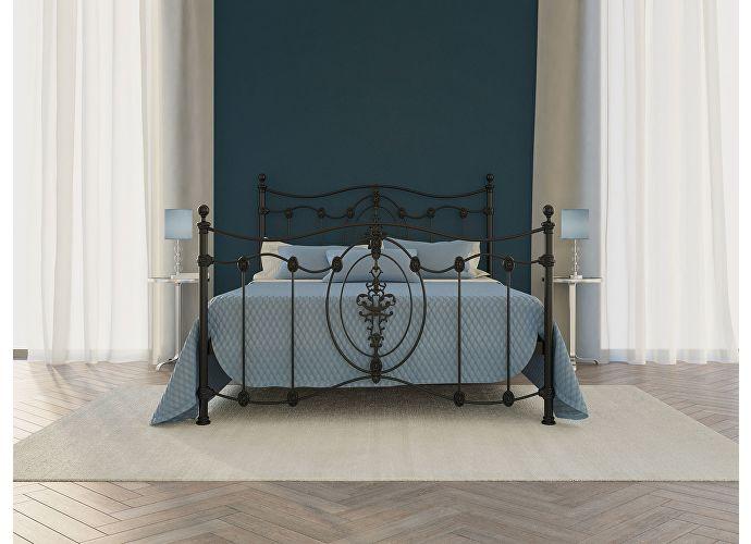 Кровать Originals by Dreamline Diana (2 спинки) Черный глянцевый