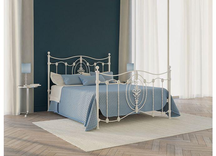 Кровать Originals by Dreamline Diana (2 спинки) Белый матовый