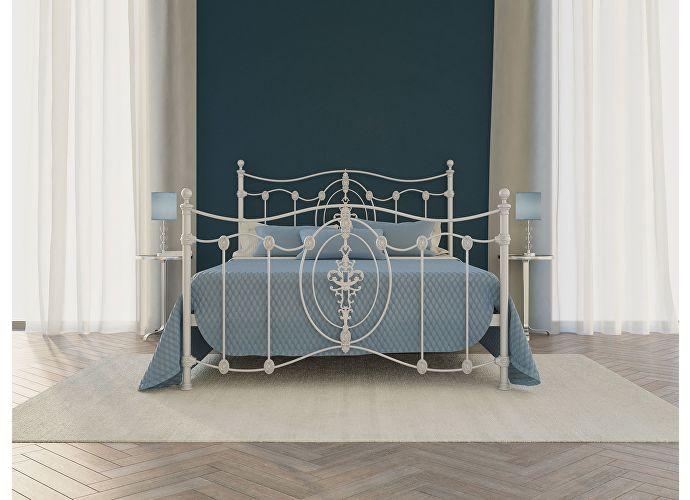 Кровать Originals by Dreamline Diana (2 спинки) Серебро
