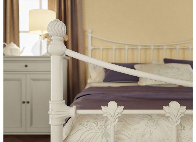 Кровать Originals by Dreamline Charm (2 спинки) Белый глянцевый