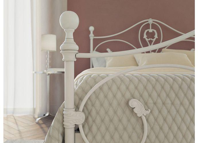 Кровать Originals by Dreamline Melania (2 спинки) Белый матовый