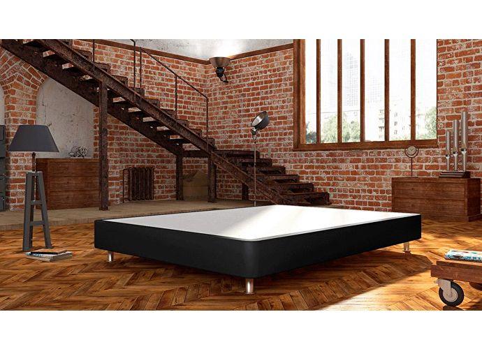Кроватный бокс LordBed Fine Box H20 Black (экокожа)