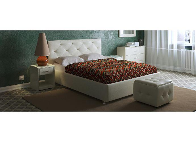 Кровать Moon Trade Монблан Модель 383 (экокожа) с подъемным механизмом