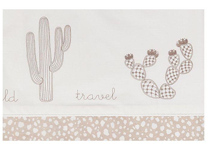 Детское постельное белье Luxberry Wild Travel, простыня на резинке