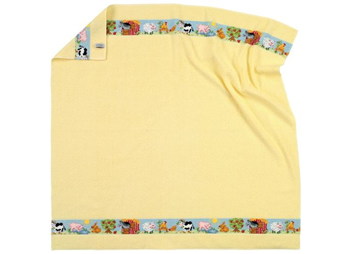 Полотенце Feiler Farm 100х100 см yellow