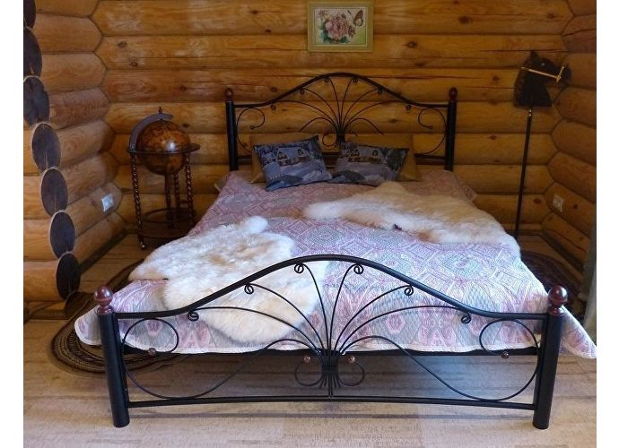 Кровать Rollmatratze Фортуна-2, черная