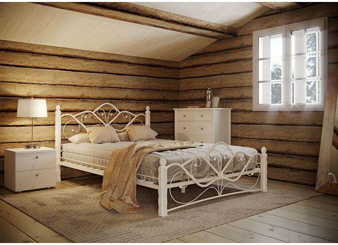 Кровать Rollmatratze Венера-1, белая