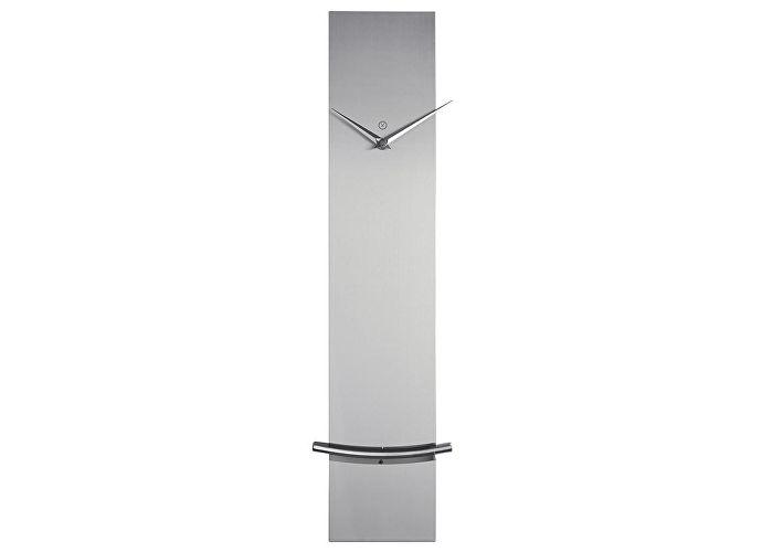 Часы настенные Урбаника Monaco с маятником, серебро