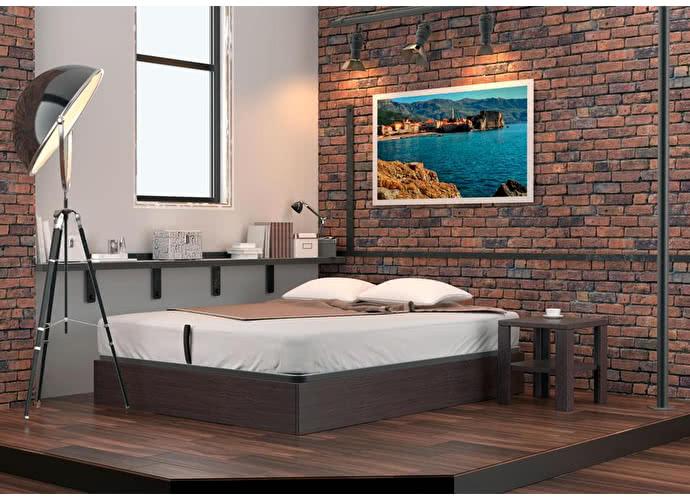 Кровать DreamLine Куб (бук)