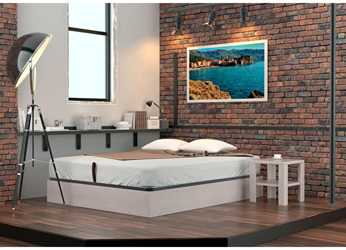 Кровать DreamLine Куб (ясень)