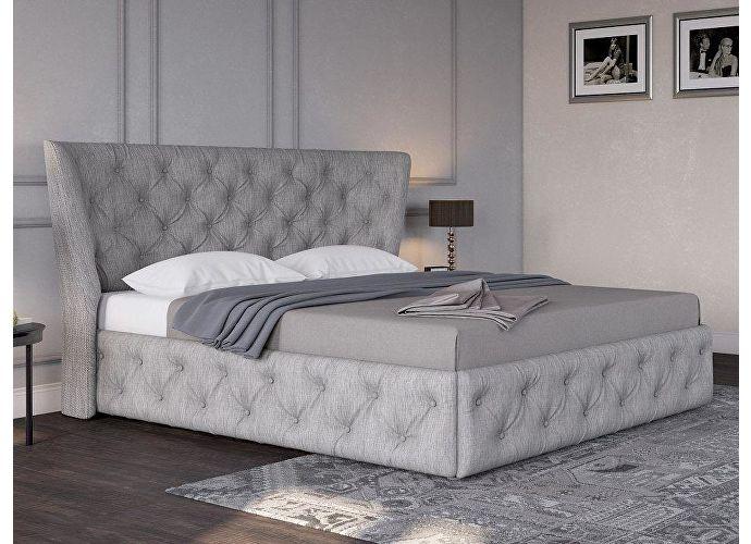 Кровать Life 5 Box (ткань и цвета люкс) Глазго серый