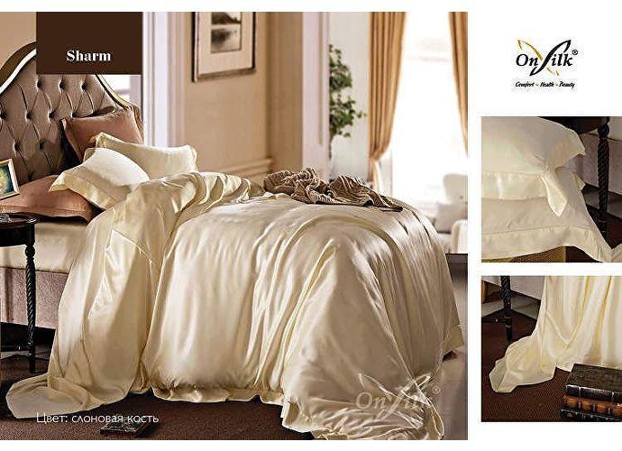 Постельное белье Onsilk Sharm 1.5 спальное. постельное белье из натурального шелка On silk  | OnSilk