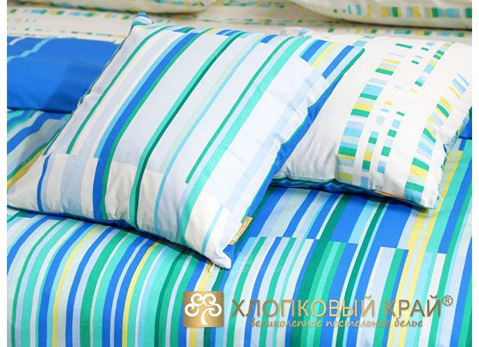 Постельное белье Хлопковый край Кембридж, голубой