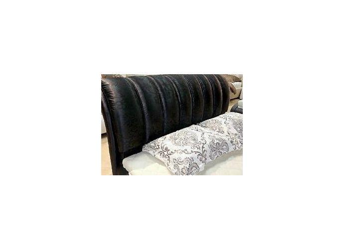 Кровать Татами арт.KS 2145 черный блестящий (QT216)