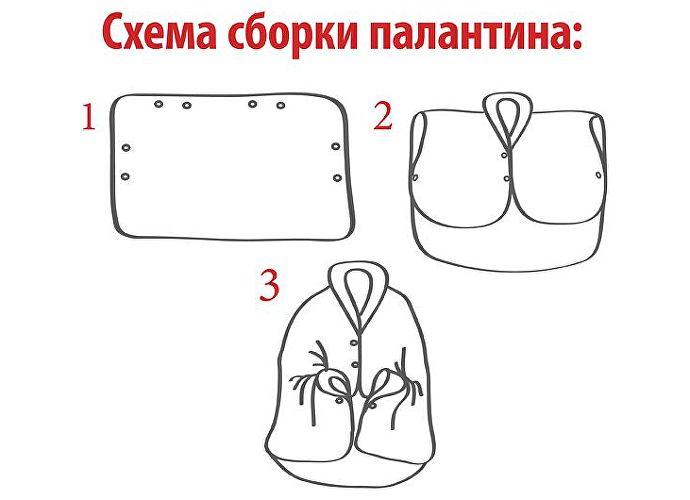 Плед-подушка-палантин OL-tex, камуфляж