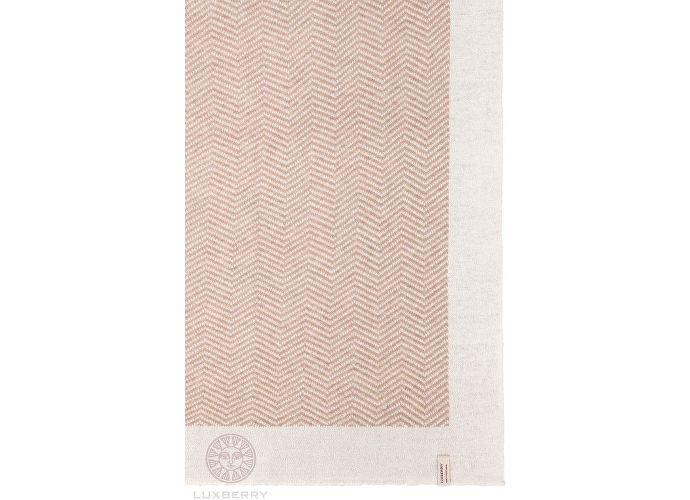Плед Luxberry Lux 153, бежевый/белый
