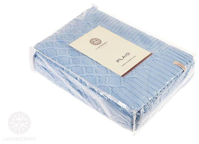 Плед Luxberry Lux 35, небесно-голубой